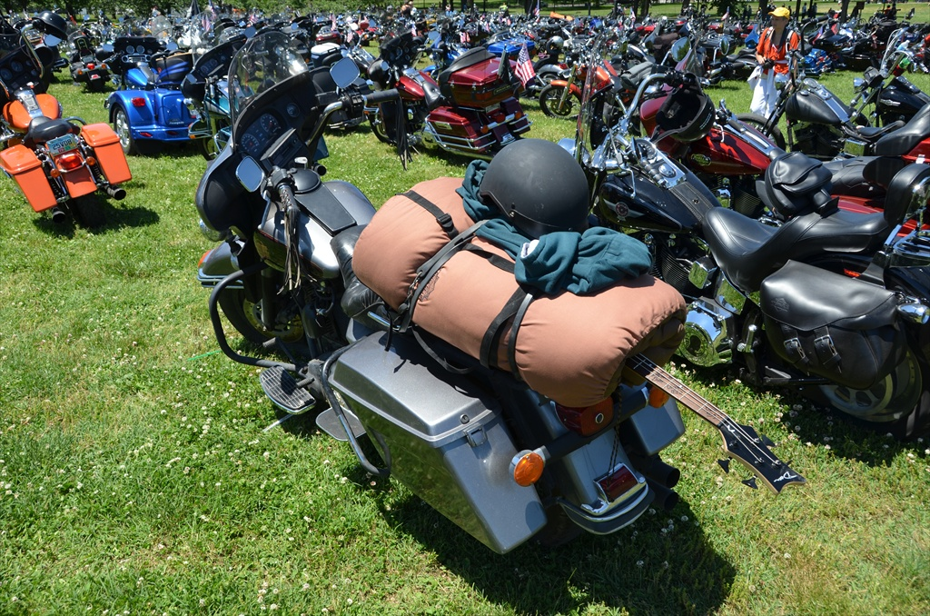 Custom Motorcycle in Rolling Thunder 2013