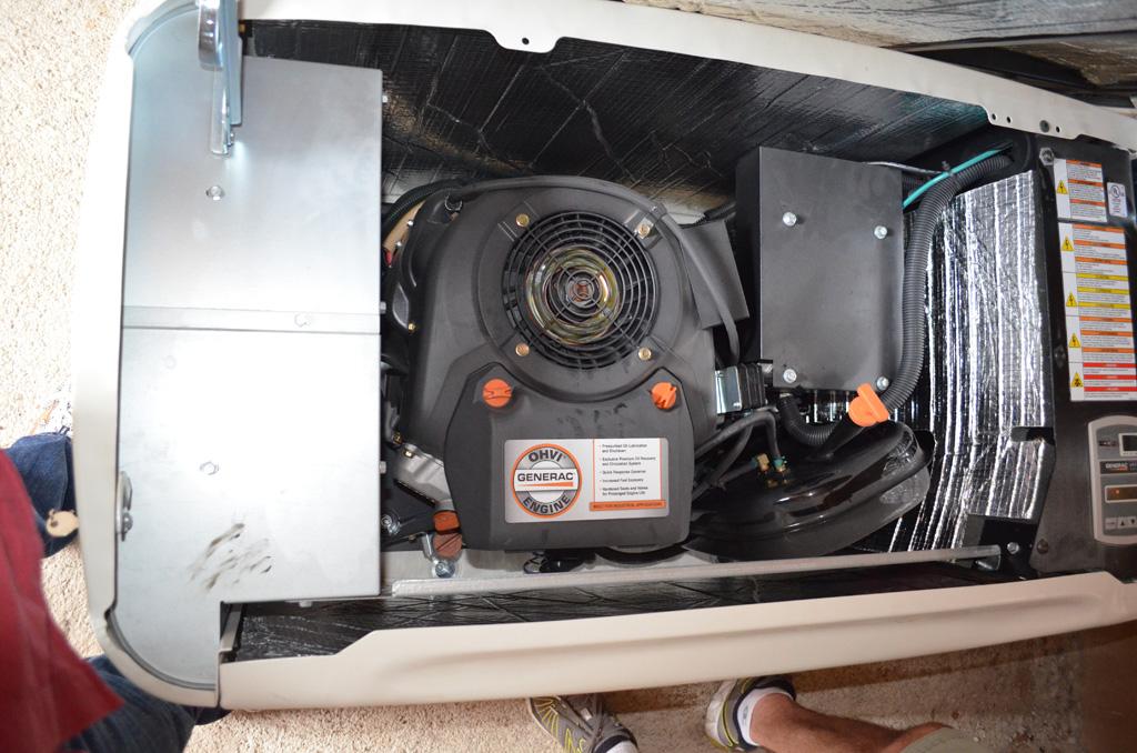 Playa Viva Diesel Generator