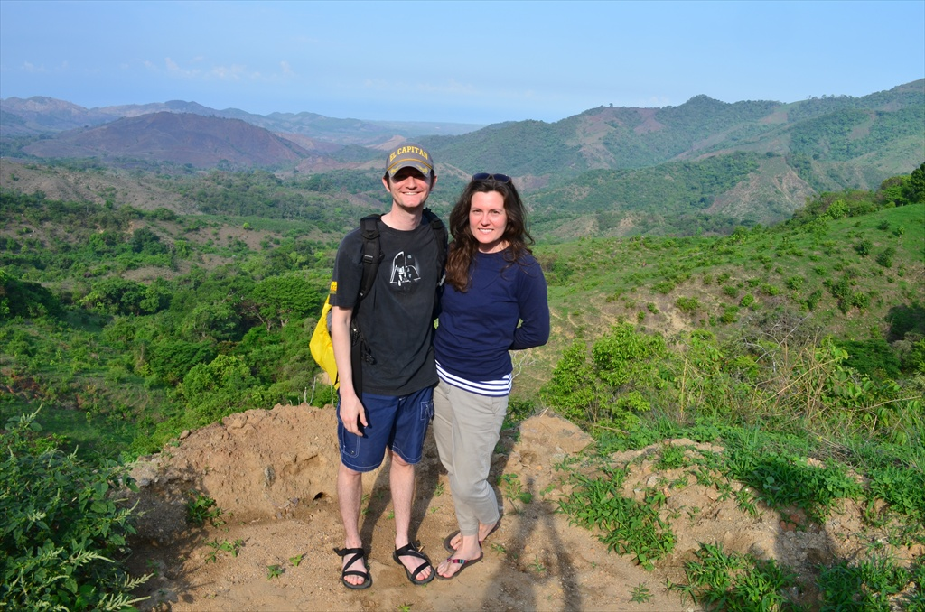 Brandy and Jason in the Mexican Mountains