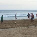 Soccer at Playa Viva